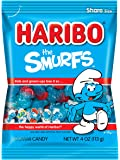 Haribo Gummi Candy, The Smurfs, 4-oz Bags (Pack of 12)