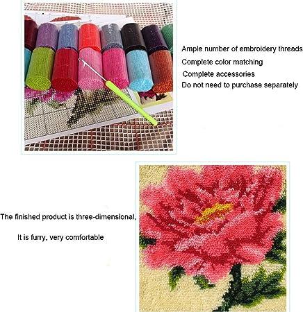 Amazon.com: TQQT - Juego de alfombras de gancho, para ...