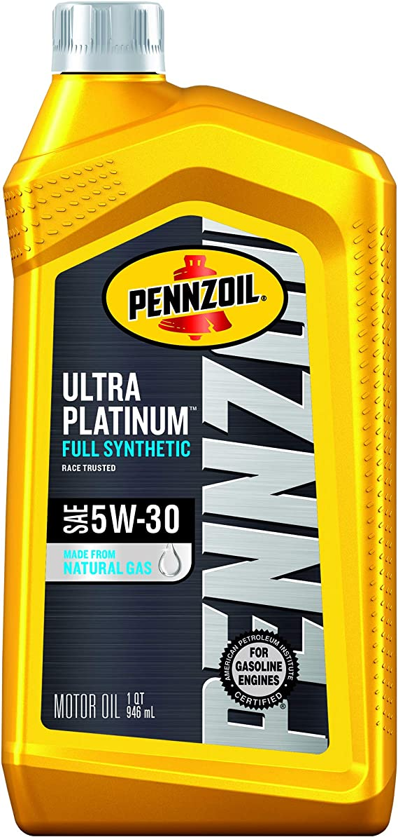Pennzoil Ultra Platinum Full Synthetic 5W-30 Motor Oil (1 Quart
