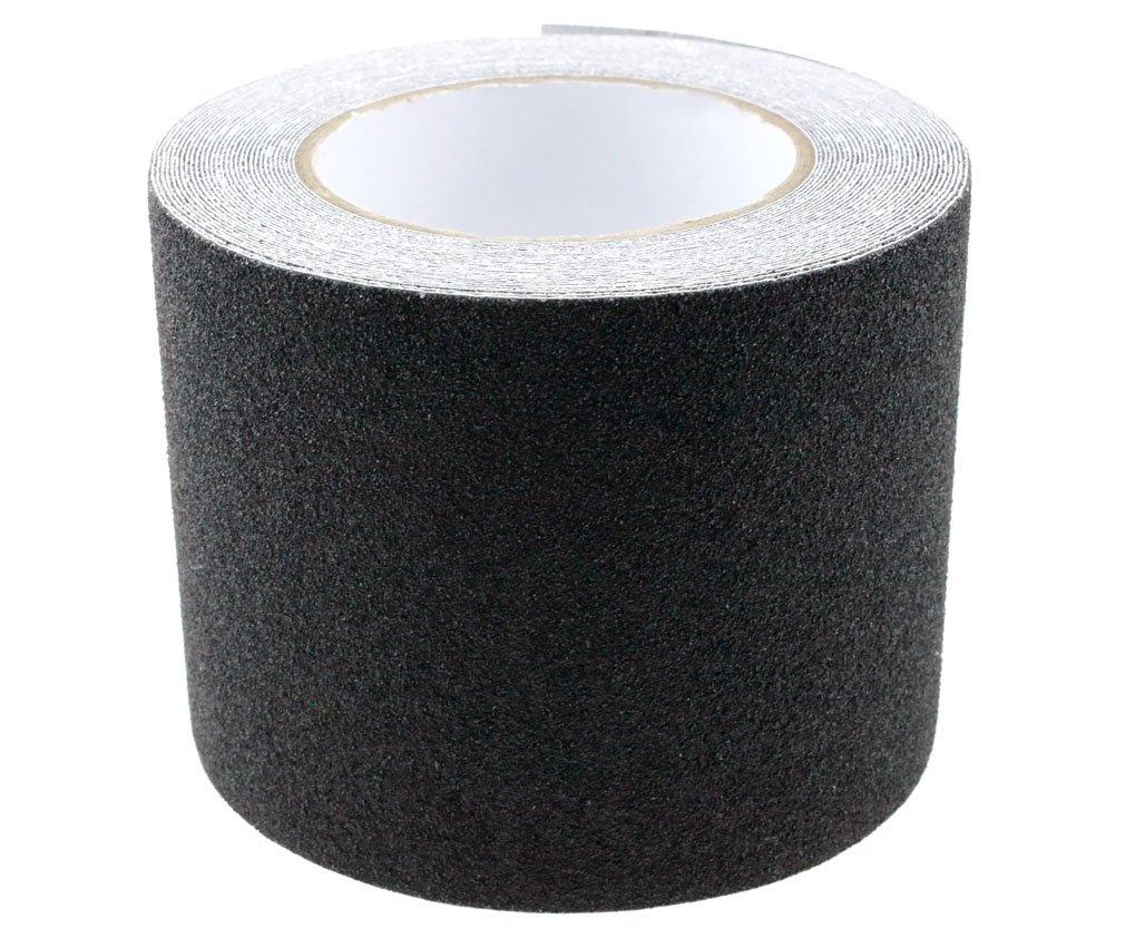 10CMx10M High Grip Anti Slip Tape Non Slip Adhesive Backed Conformable Black D2D