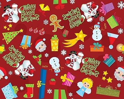 Amazon.com: Merry Fucking papel de regalo de Navidad: Arte ...