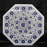 "rkhandicrafts Meeting Table Top 24"" Octagon White"