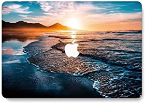 MacBook Pro 13 inch Case 2019 2018 2017 2016 Release A2159 A1989 A1706 A1708, Jiehb Hard Shell Case for New MacBook Pro 13 Inch with/Without Touch Bar Touch ID - Sunset