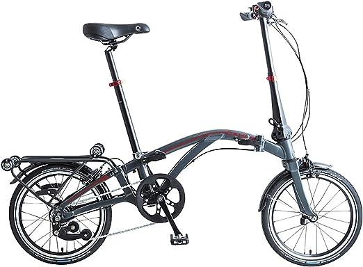 Dahon Curl i4, Bicicleta Plegable Unisex Adulto, Antracita, 16 Pulgadas: Amazon.es: Deportes y aire libre