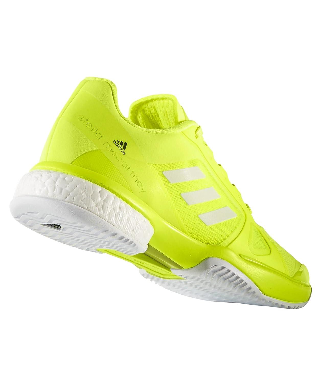 adidas Stella McCartney Barricade Boost 2017Zapatillas de tenis para mujer, mujer, amarillo neón, blanco, 6 UK - 39.1/3 EU: Amazon.es: Zapatos y ...