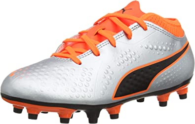 PUMA One 4 Syn FG Jr, Chaussures de Football Mixte Enfant
