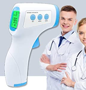 AccuInfrared-100: Most Accurate Handheld Device for Non-Contact TOUCHLESS Temperature Checking (for All Ages)