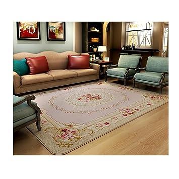 Wddwymll Romantische Rosa Rose Teppich Fur Wohnzimmer Elegante