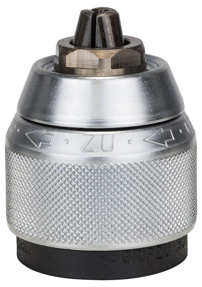 Bosch 2608572149 - Mandrino a chiusura rapida, cromato, 1,5-13 mm, 1,3 cm (0,5') - 20 5) - 20