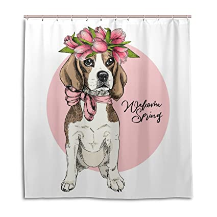 Amazon Chen Miranda Waterproof Shower Curtain For Everday Use