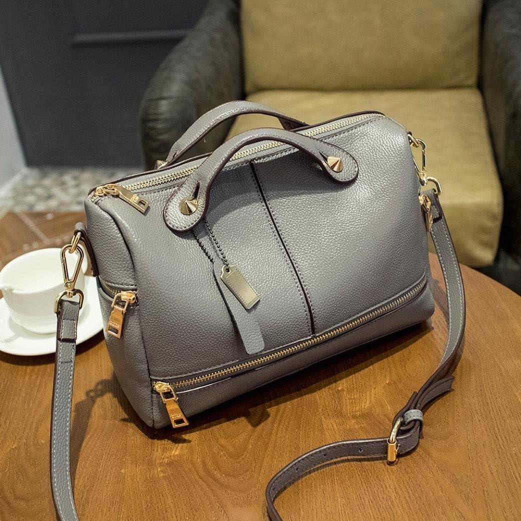 Women Leather Tote Bags,Tuscom@ Handbag Shoulder Bag 28/×15/×21CM