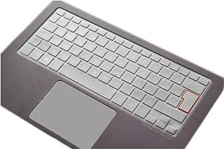 MiNGFi DE/EU Tastatur TPU Schutz Abdeckung für ASUS ZenBook UX301 UX303 UX305 UX306 UX31E UX310UA UX310UQ UX360 UX3410UA UX410/430 T200TA T300FA TP301UA f205t 11.6' Not for UX370 - Transparent