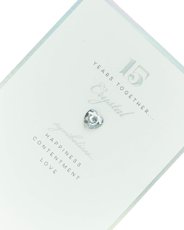 Anniversary 15 Anniversary Anniversary Card #004 Digital Oasis Congratulations Card 15
