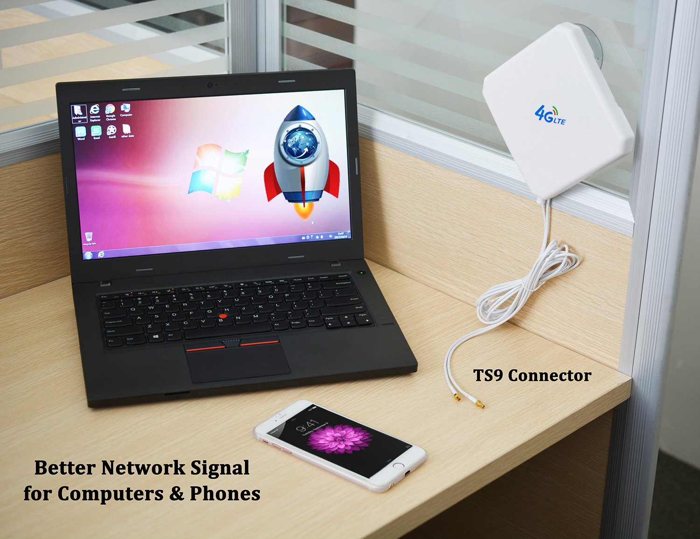 WiFi Hotspot Dual Mimo TS9 Antenna for Huawei Netgear 4G LTE