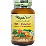 MegaFood - Multi for Women 40+, A Balanced Whole Food Multivitamin, 60 Tablets