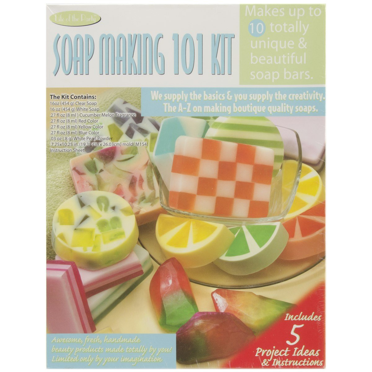 Life of the Party Soap Making 101 Kit, 57027 by Life of the Party (Image #1)