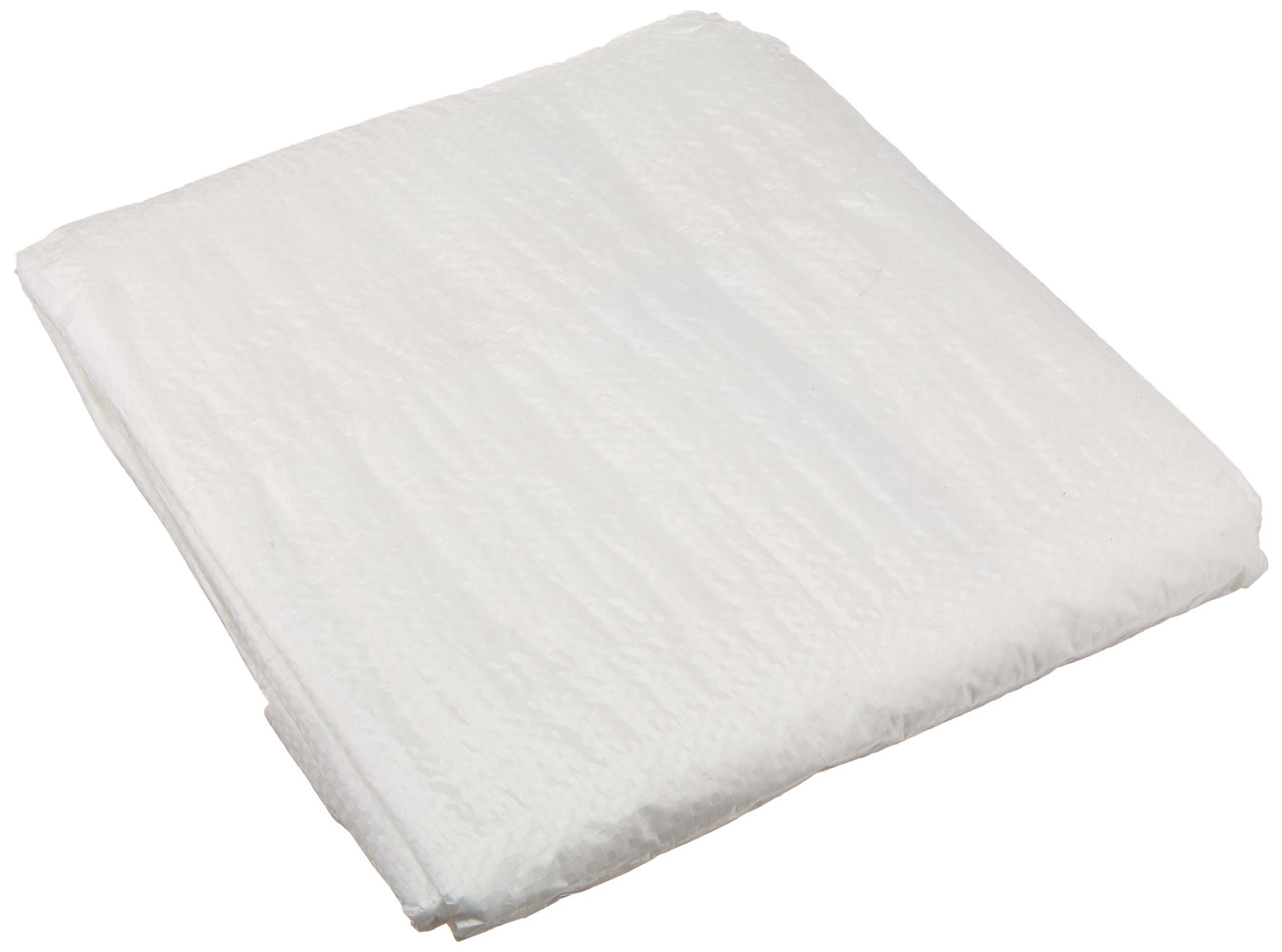 Erickson 57062 Clear White Economy Grade Poly Tarp, 10' x 12', 1 Pack