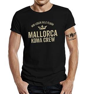 39e719b9c4062c LOBO NEGRO Original T-Shirt für den Ballermann Fan  Mallorca Koma Crew