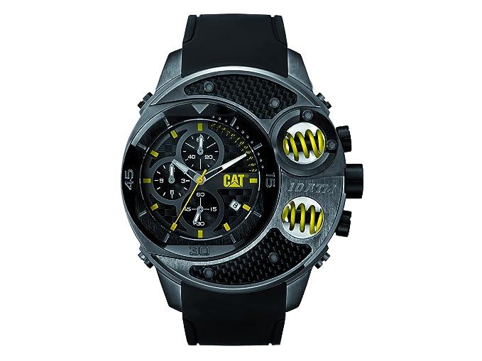 CAT relojes hombre DU 153.21.125 DU54 analógico negro y oro rosado: Amazon.es: Relojes