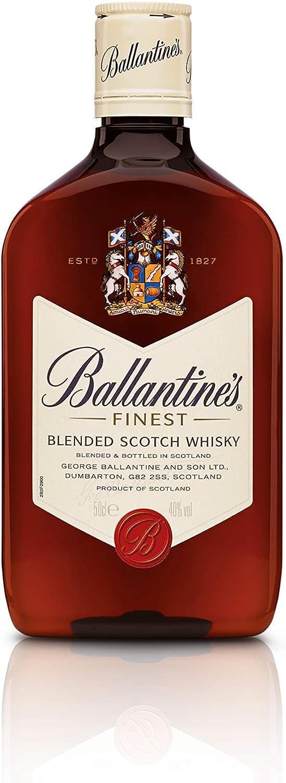 Ballantines Finest Whisky Escocés de Mezcla - 500 ml