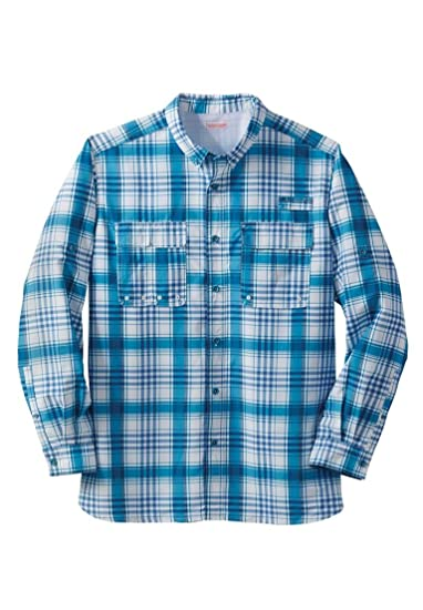 21e172c490a Boulder Creek Men s Big   Tall Off-Shore Long Sleeve Sport Shirt ...