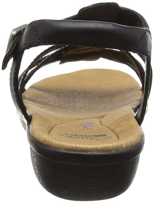 Clarks Manilla Bonita Sandali con Zeppa Donna amazon shoes