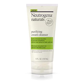 Neutrogena Naturals Purifying Daily Facial Cream Cleanser