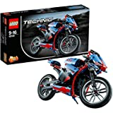 LEGO TECHNIC Street Motorcycle 375 Pieces Kids Building Playset | 42036