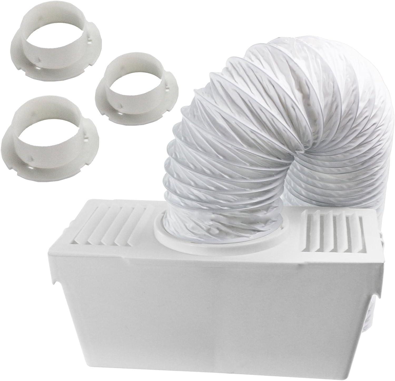Kit de manguera de ventilación con 3 adaptadores, de Spares2go, para secadora White Knight, 1,2m