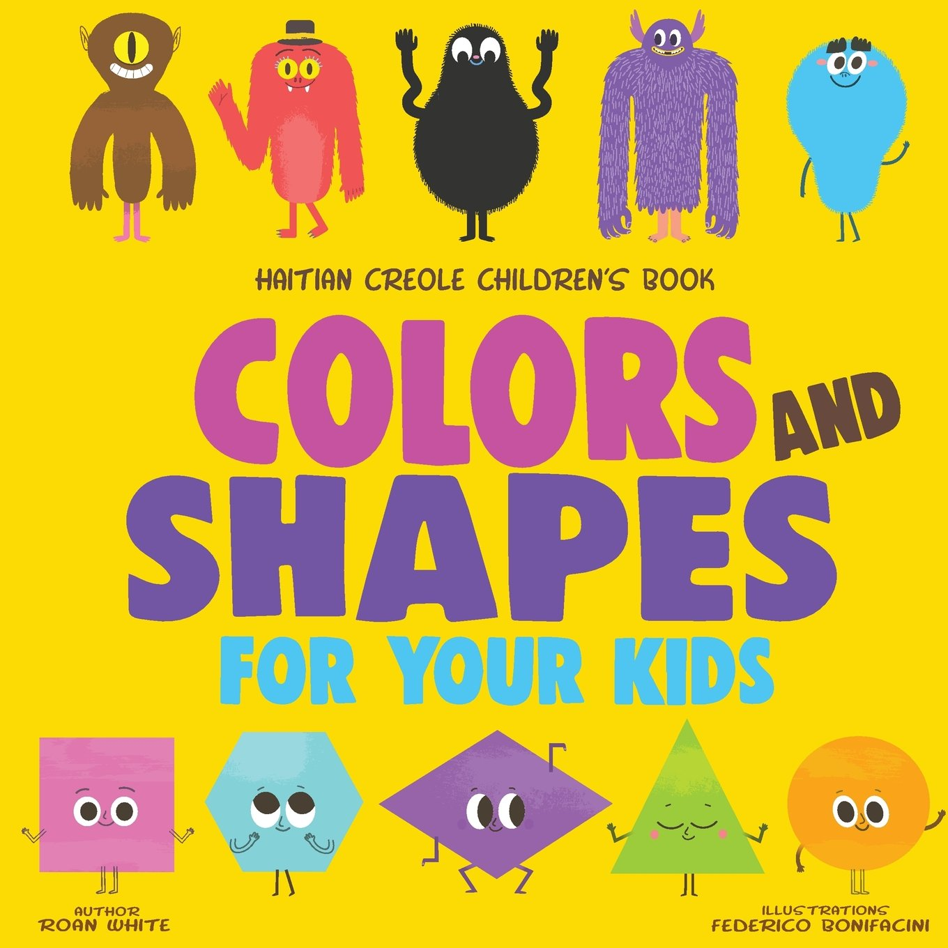 Haitian Creole Children's Book: Colors and Shapes for Your Kids PDF