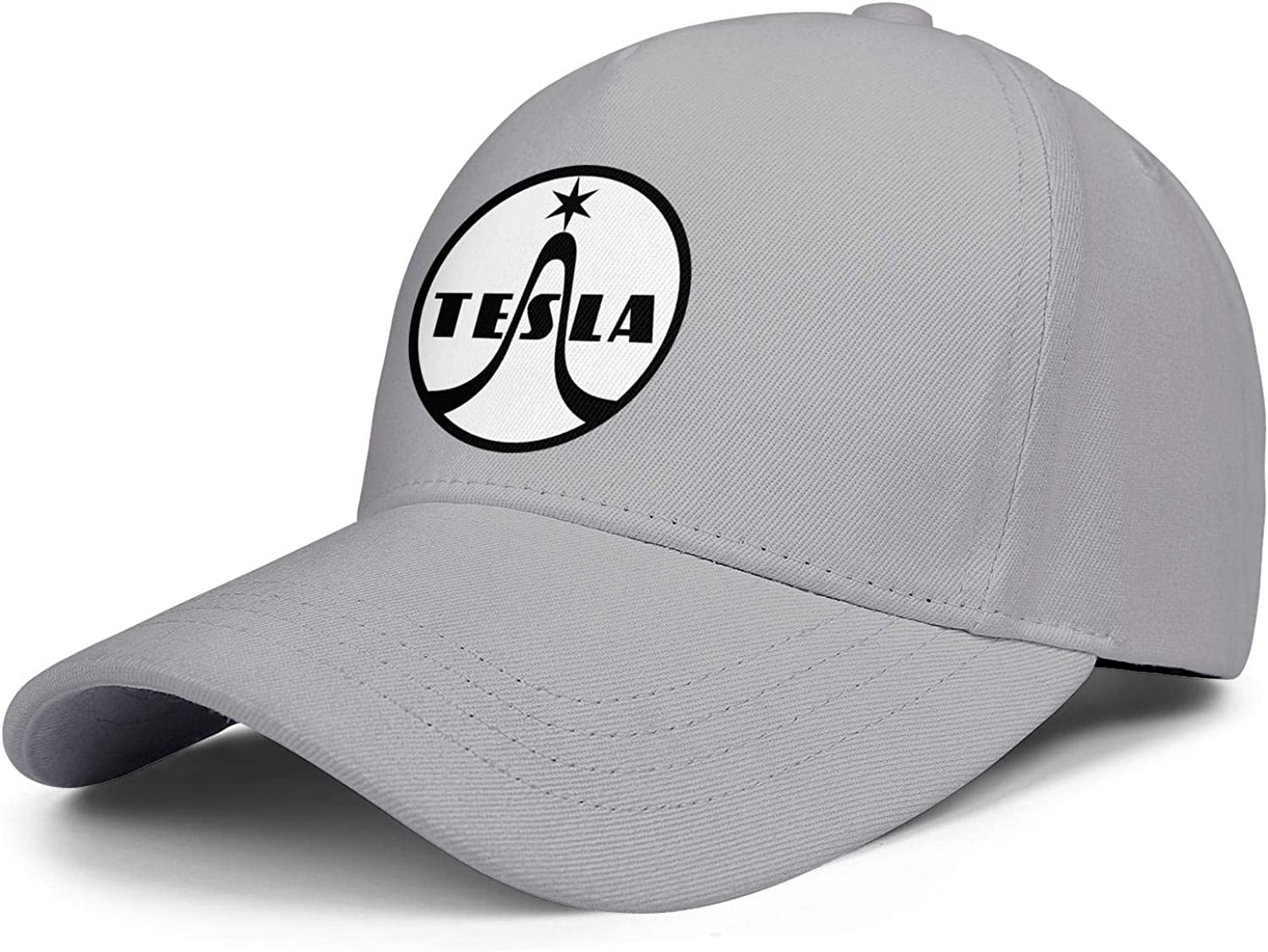 for Men Womens Cowboy Ball Hat Tesla-Logo Cute Mesh Cap