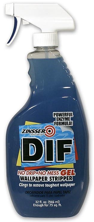 Amazon.com: Zinsser & 02468 Dif 32-oz. Papel pintado Remover ...