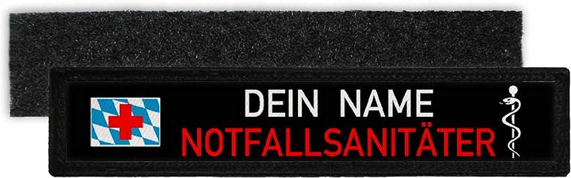 Copytec NotfallsanitÄter Bayern Namen Schild Patch Bavaria Feuerwehr 32933 Küche Haushalt