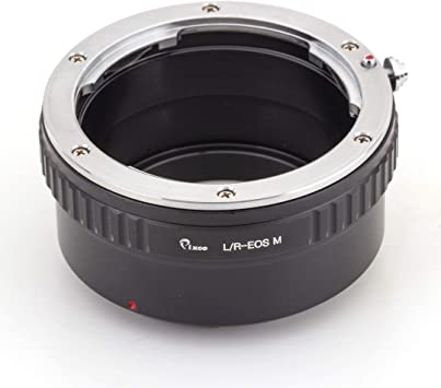 Canon EF-M Mount Adapter Leica R Lens to fit Canon EOS-M Body Mirrorless Camera