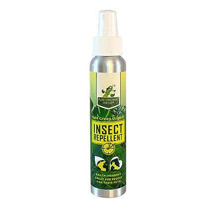 Amazon.com : Pure Organic Virtue All Natural Insect Repellent ...