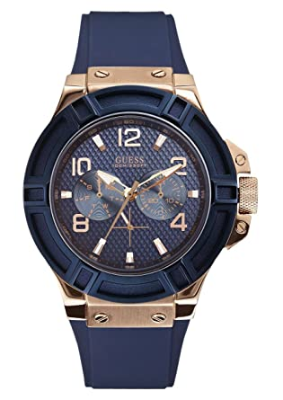 6393f69f1 Buy Guess Analog Blue Dial Men's Watch - W0247G3 Online at Low ...