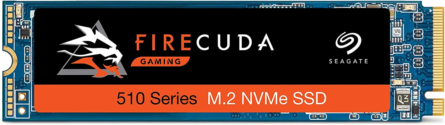 Seagate FireCuda 510 1TB Performance Internal Solid State Drive SSD PCIe Gen3 x4 NVMe 1.3 for Gaming PC Gaming Laptop Desktop (ZP1000GM30011)