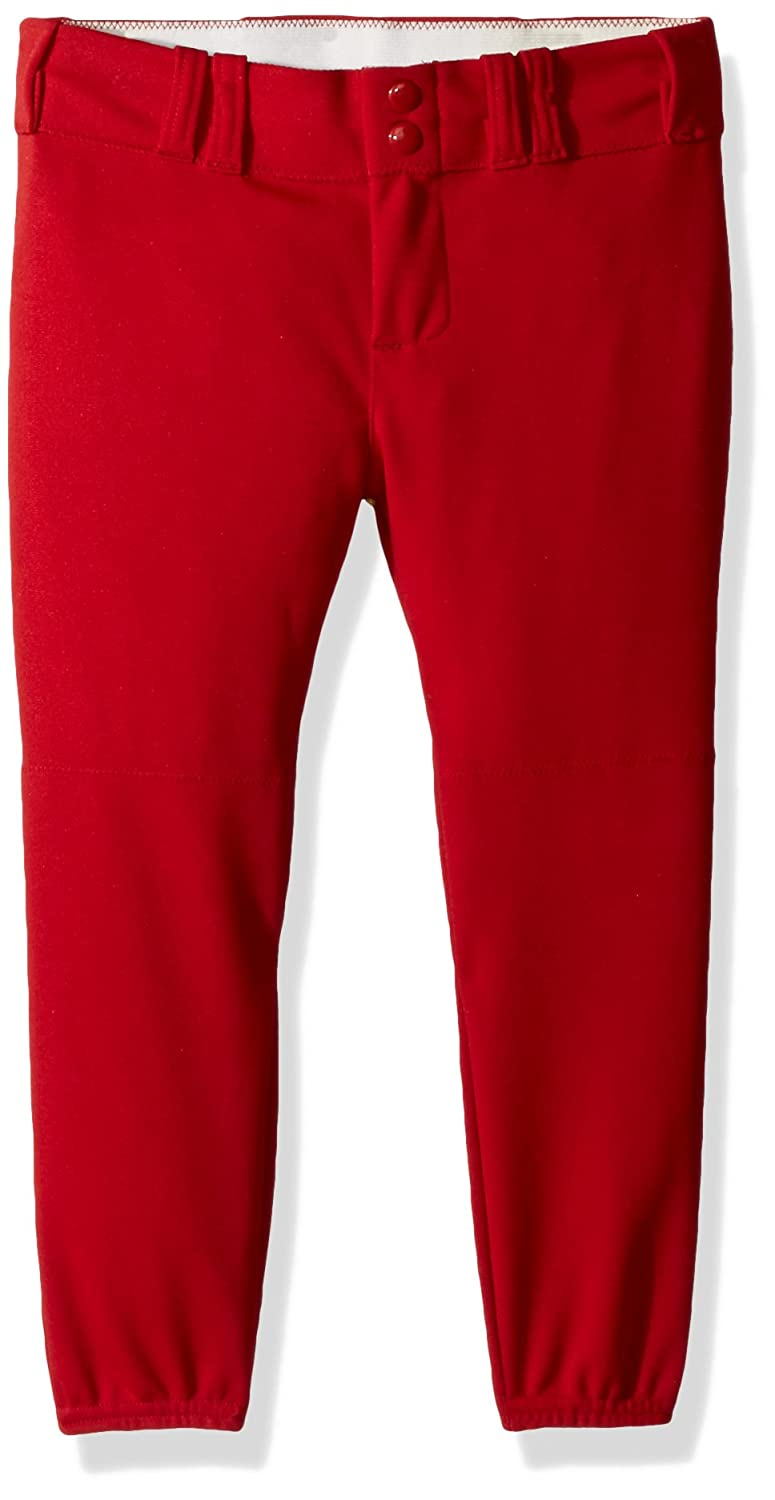 Alleson Athletic Women 's Softball Pants withベルトループ B00I7TDC0Q M|Scarlet Scarlet M