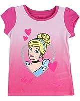 """Cinderella Toddler Little Girls """"Dream It Then Do It"""" T- Shirt"""