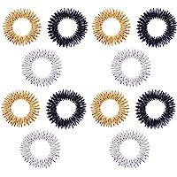 Supvox 12 stuks massagering, acupressuur, sensorische vingerringen, acupressuurring, spiky sensory, vingerringen…