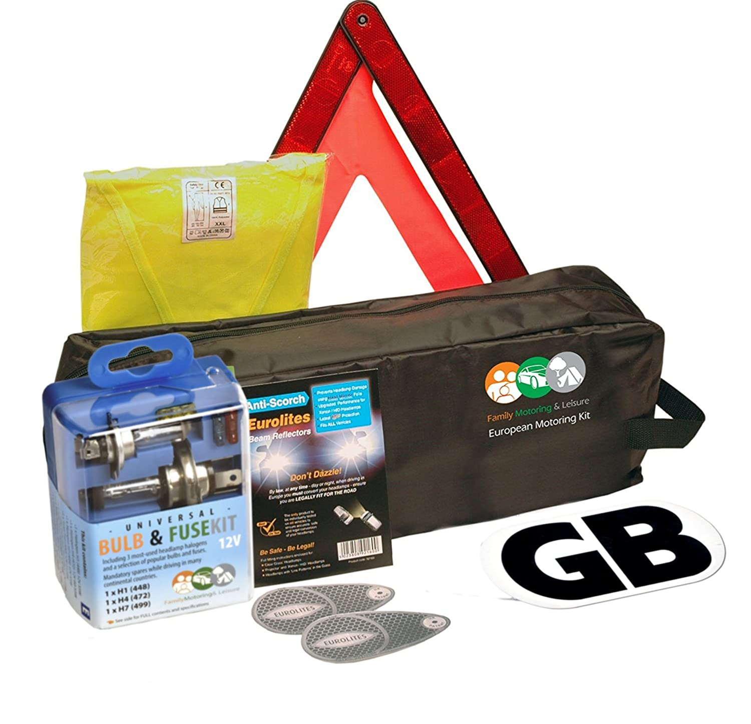 New Euro Travel Kit For All You Need For Travelling In Europe Family Motoring & Leisure