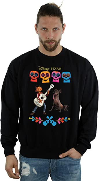 Disney Men/'s Coco Miguel With Guitar T-Shirt