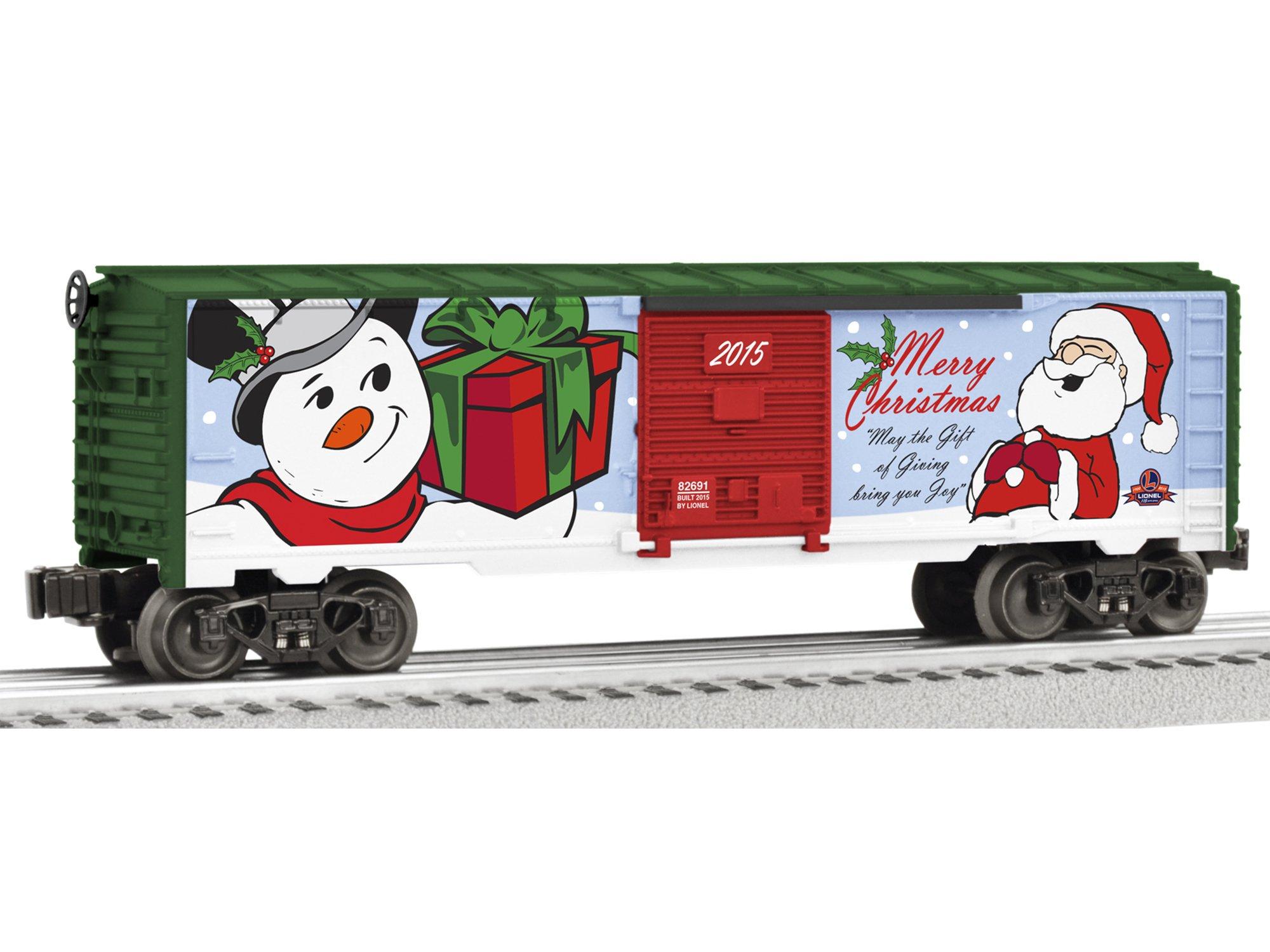Lionel 2015 Christmas Boxcar