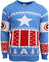 Official Marvel Iron Man Christmas Jumper / Ugly Sweater: Amazon ...