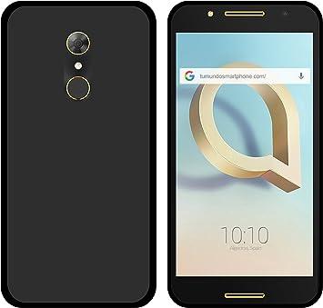 Tumundosmartphone Funda Gel TPU para ALCATEL A7 (4G) Color Negra: Amazon.es: Electrónica