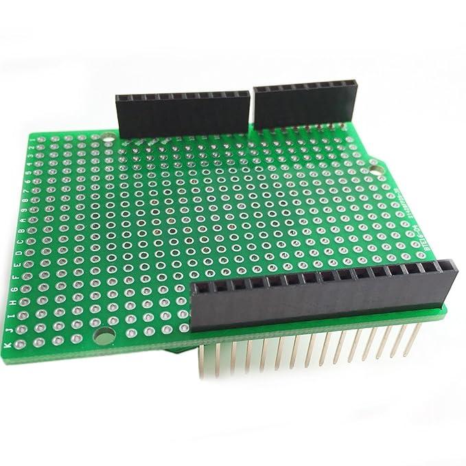 KINTRADE Prototype PCB for Arduino MEGA 2560 R3 Shielding Plate DIY