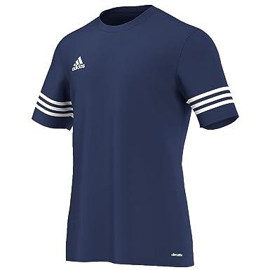 9e1fa47b223 Adidas Mens Entrada 14 Short Sleeve Football Training Sports Top T Shirt:  Amazon.co.uk: Sports & Outdoors
