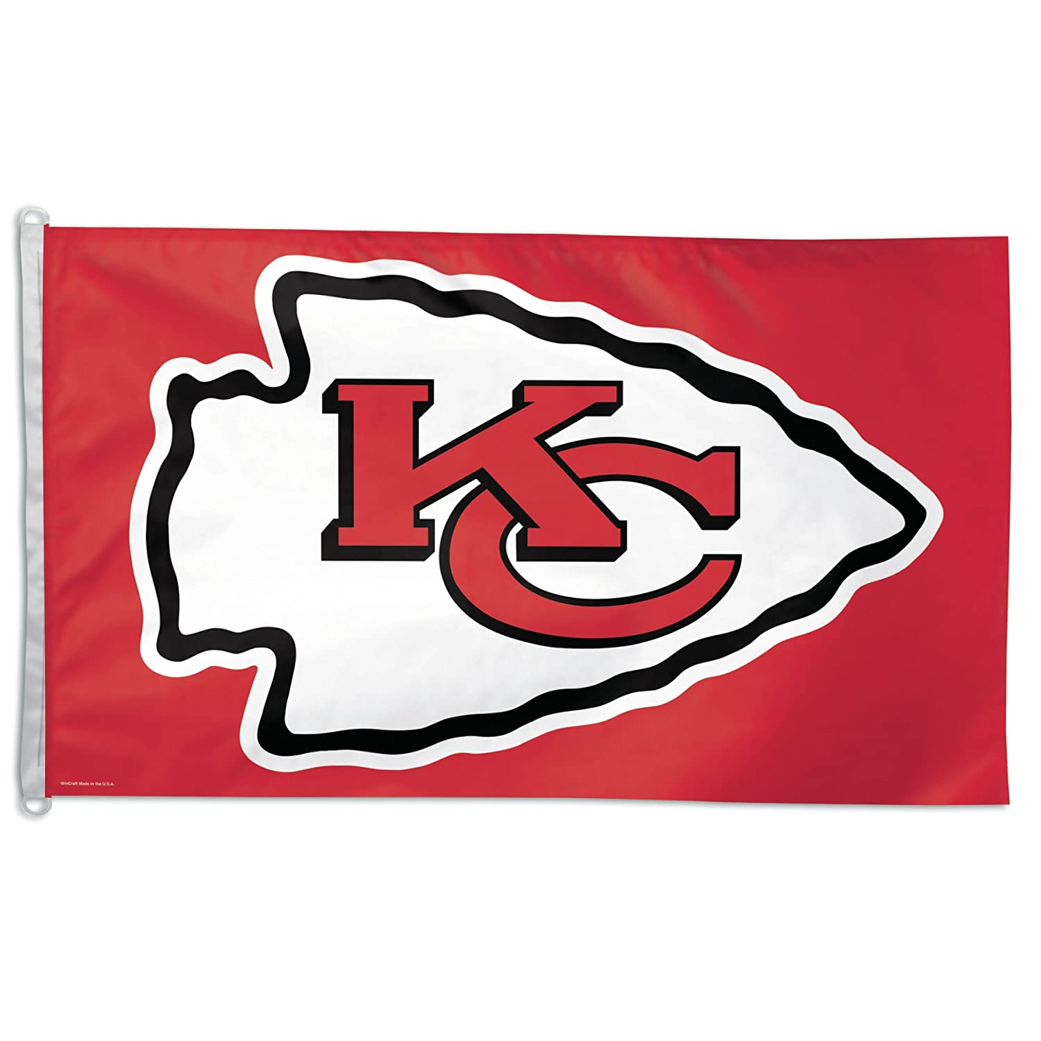 amazon com nfl flag nfl team kansas city chiefs outdoor flags