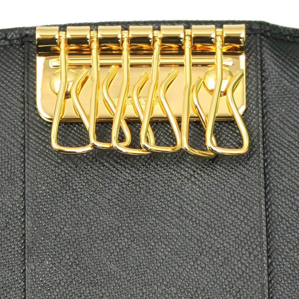 Prada Black Saffiano Leather Key Case 1PG222 Nero by Prada (Image #4)