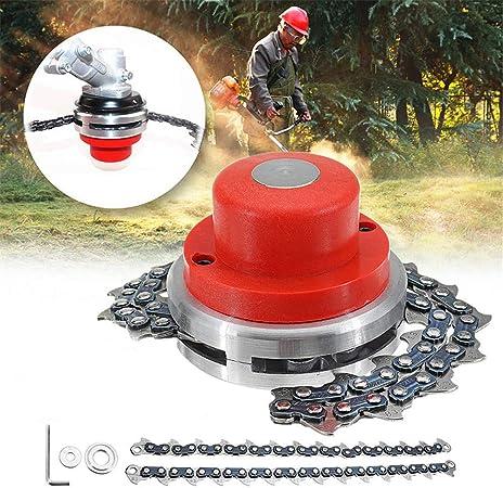 Amazon.com: Ineedtech - Cadena de bobina para cortacésped ...